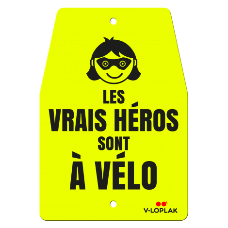 Les vrais héros sont à vélo