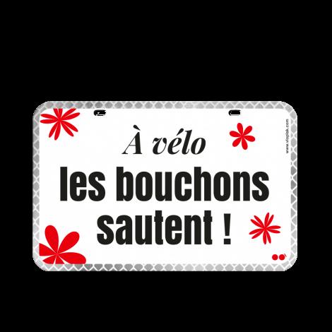 À VÉLO LES BOUCHONS SAUTENT...