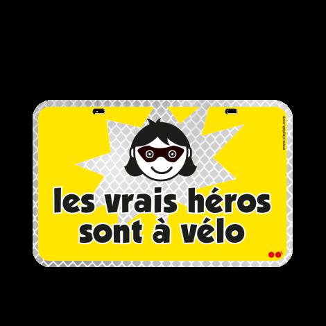 Les vrais héros sont à vélo...