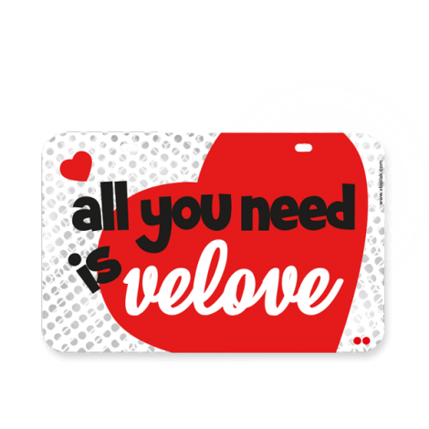 All you need is velove