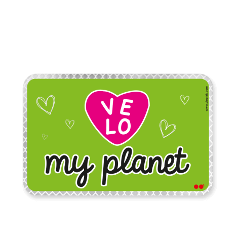 VELOVE MY PLANET Cœur rose